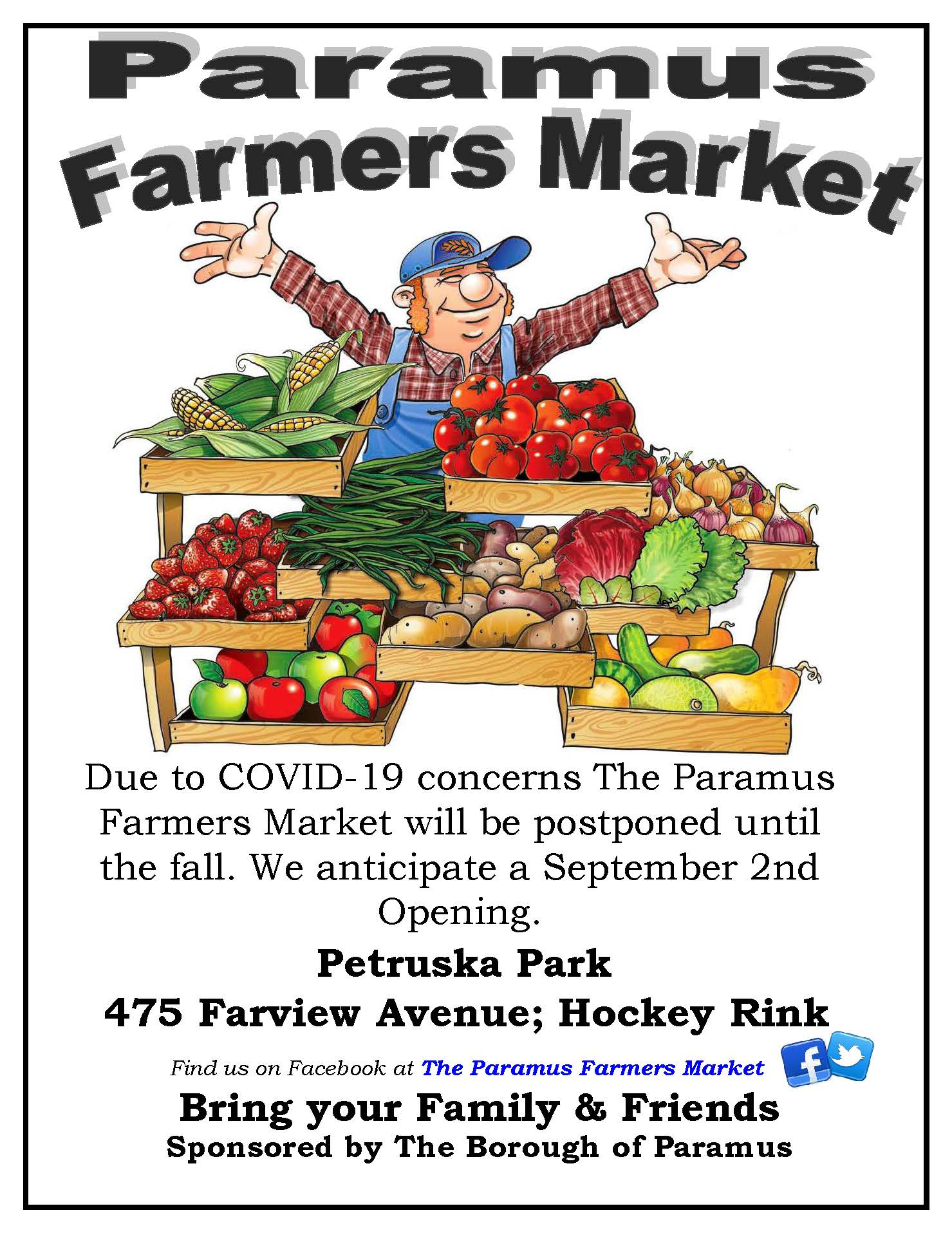 2020 Farmers Market Flyer