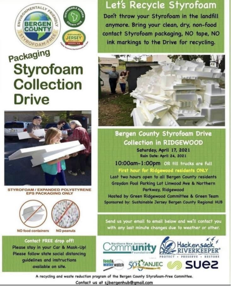 2021 Recycle Styrofoam
