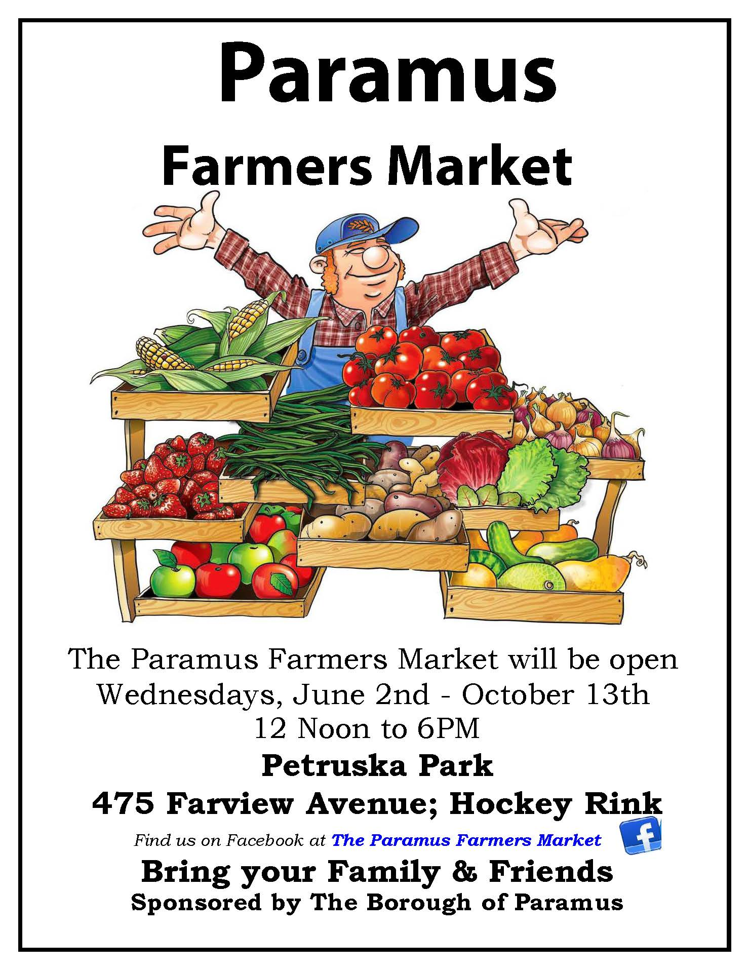 2021 Farmers Market Flyer